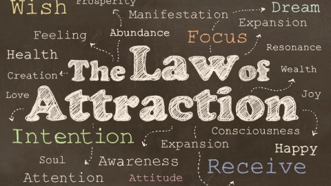 Using Positive Thoughts and the Law of Attraction